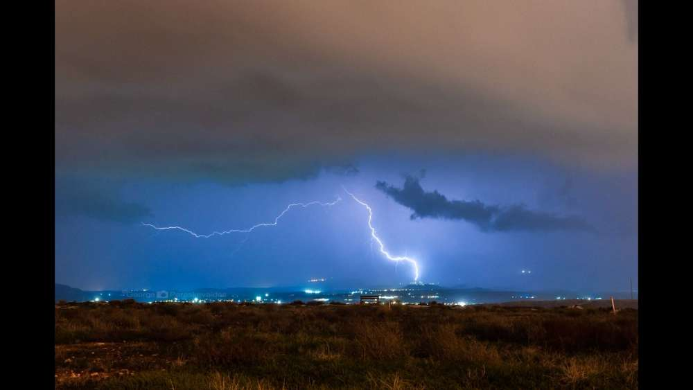 Met office issues yellow alert for rain and thunderstorms