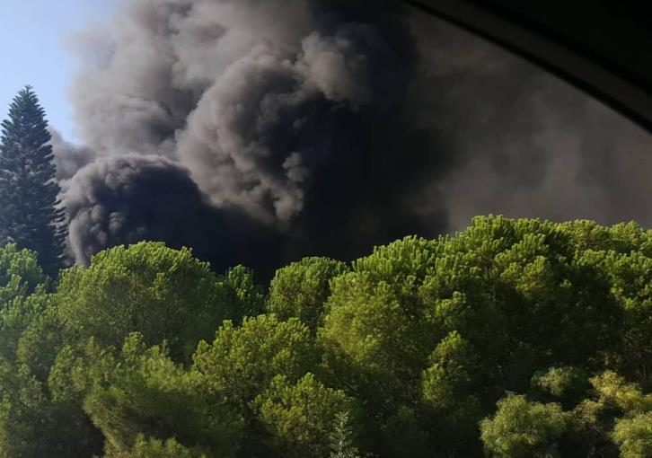 Updated: Fire at Strovolos factory contained (photos)