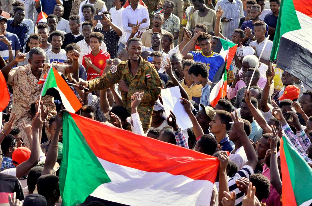 Civilian government to be established in Sudan - new head of military council