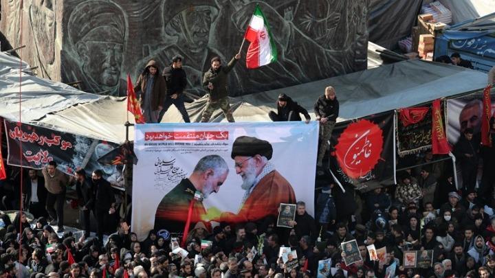 Fatal stampede in Iran at funeral for a slain commander - Press TV