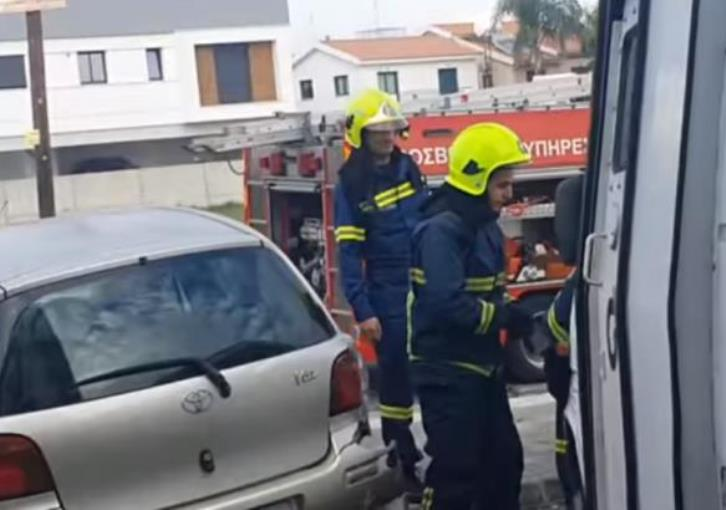 Nicosia: Car crashes into other 6 in supermarket parking lot (photos)