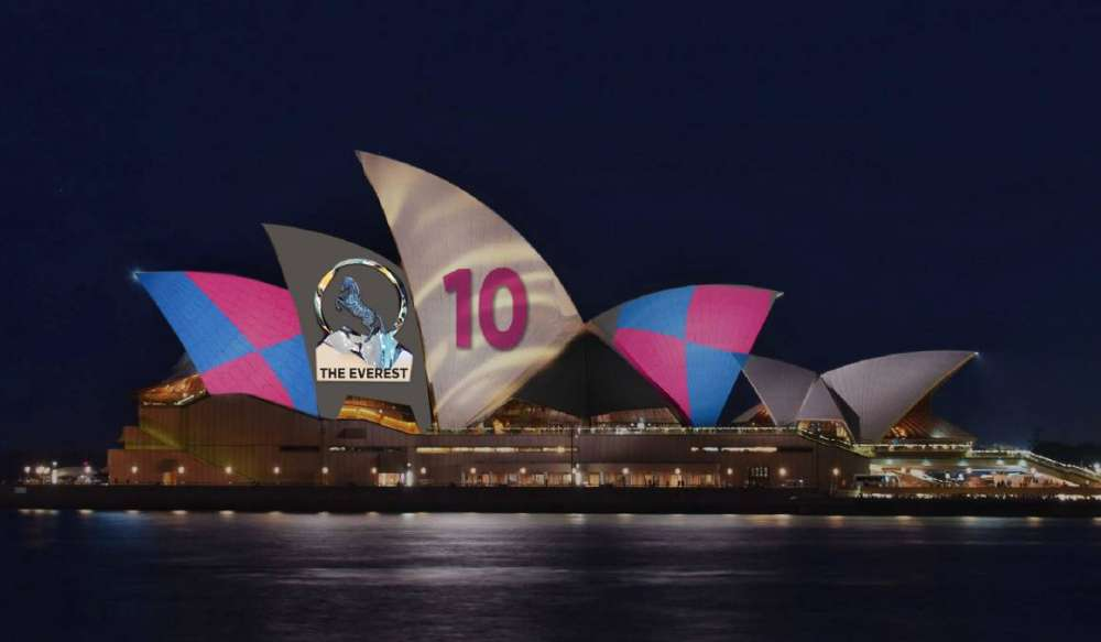 Aussies bridle at horse race ad on Sydney Opera House