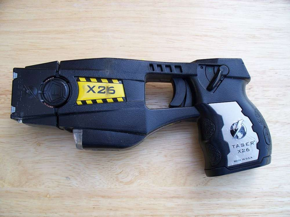 Parliament examining bill to legalise use of tasers by authorities