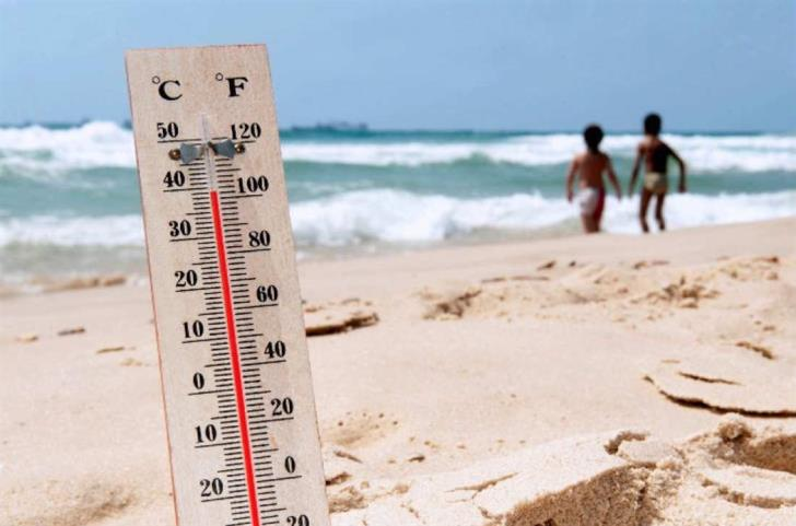 Temps set to edge below 40 C on Tuesday