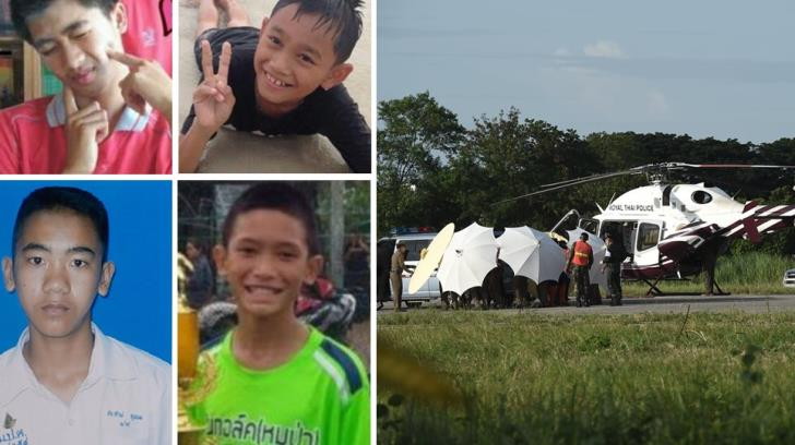 8 boys brought safely out of flooded Thai caves in 2 days