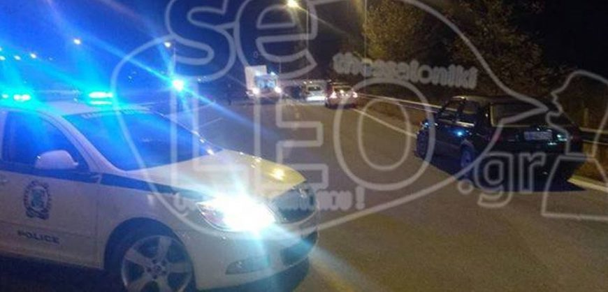 One dead & 24 injured in car crash at the outskirts of Thessaloniki