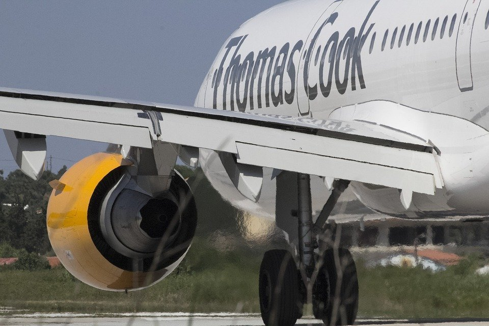 Thomas Cook collapse affects 53