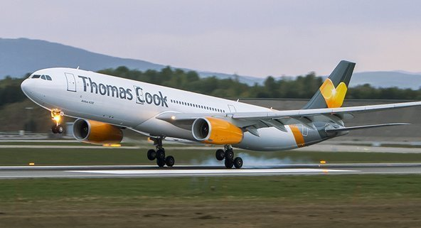 Seven rescue flights for Thomas Cook customers today