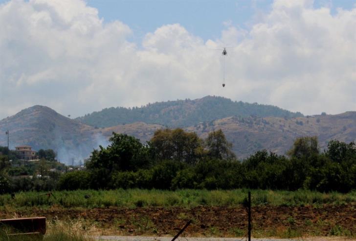 Update 2:  Fire in Pyrgos Tillyrias area under control (pics)