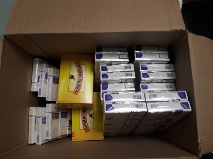 Customs seize tobacco