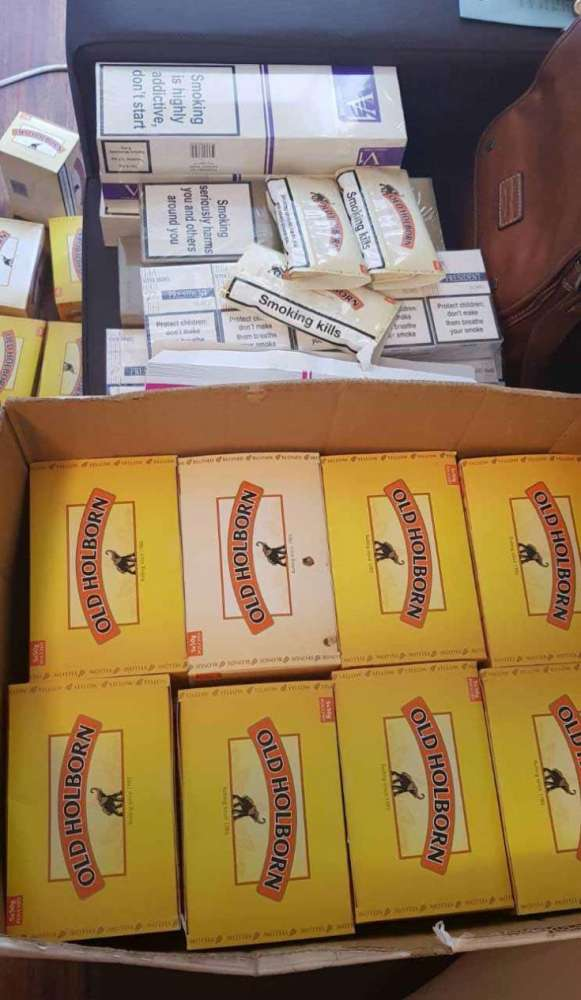 Customs seize contraband tobacco