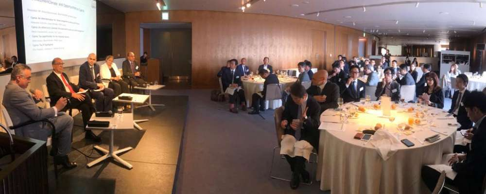 Invest Cyprus holds business lunch in Tokyo