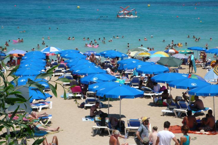 Tourism revenue up
