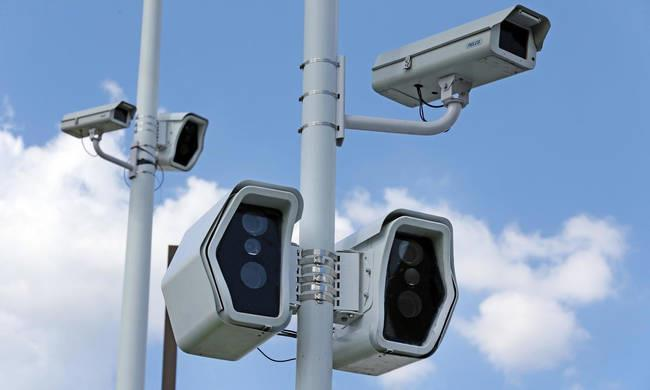 First eight traffic cameras in 2020