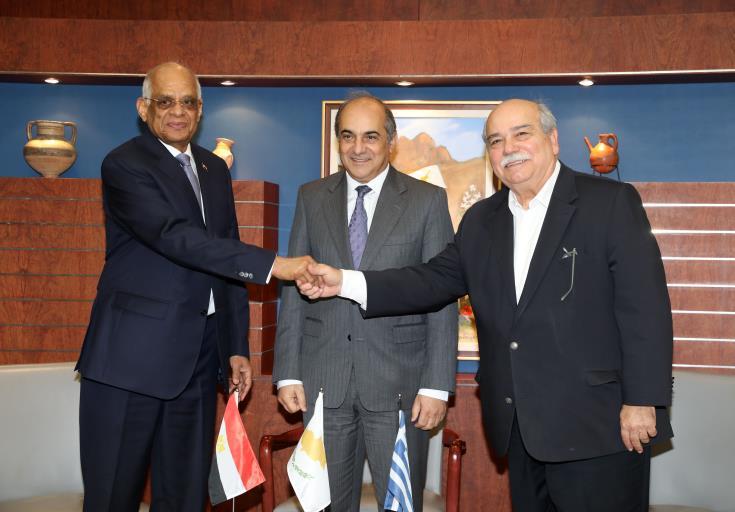 Parliamentary trilateral meeting between Cyprus