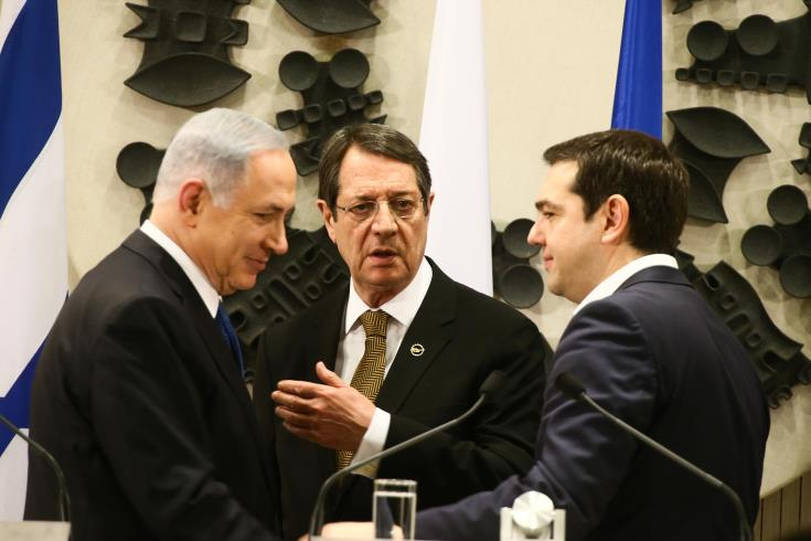US present at 5th Cyprus-Greece-Israel Trilateral Summit in Beer Sheva