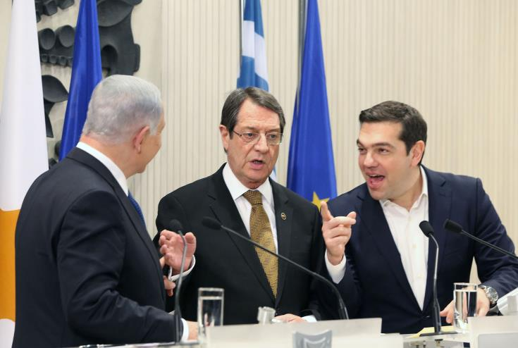 Trilateral summit at Beer Sheva to discuss Cyprus issue