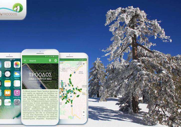 Mobile apps for fun and games in Troodos