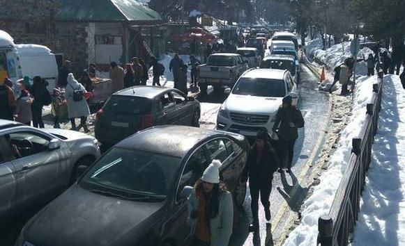 Police: Congestion in Troodos