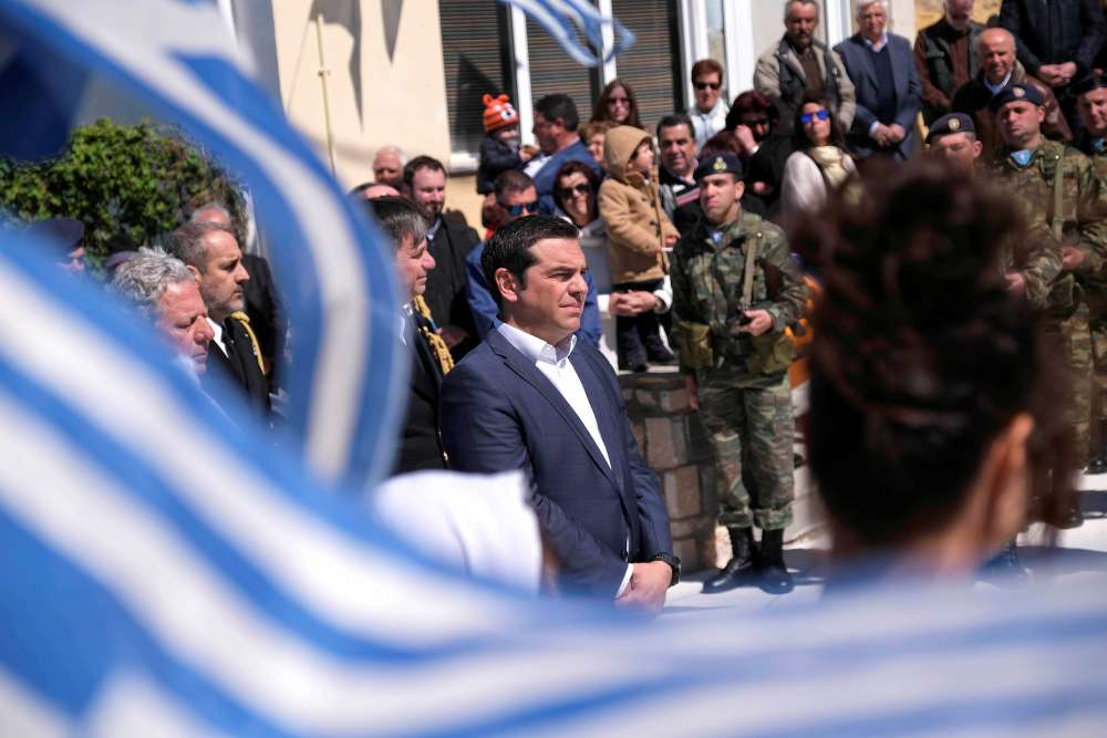 Greek PM says Turkish jets forced his helicopter to reduce altitude