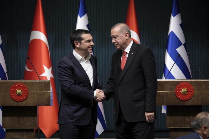 Cyprus among the main topics of Tsipras-Erdoğan meeting in Ankara