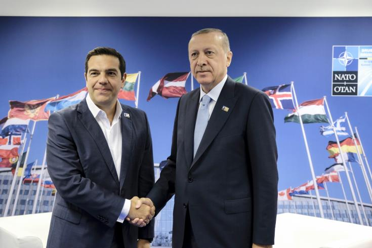 Tsipras conveys to Erdogan need for Cyprus talks to continue