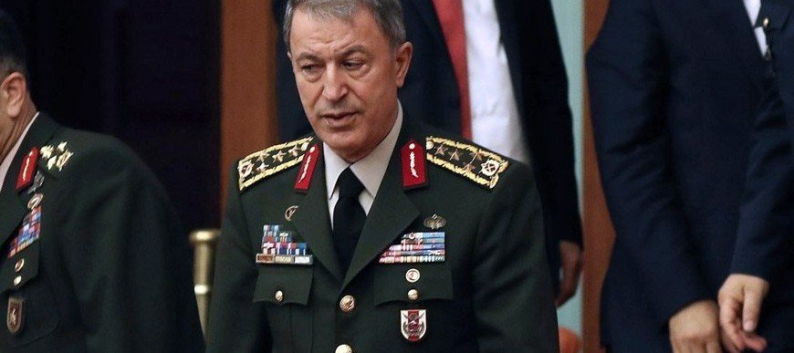 Turkey's head of armed forces says country is ready to act in Agean Sea if needed