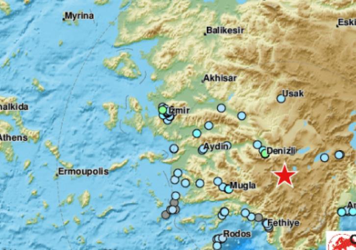 Magnitude 5.6 quake hits western Turkey