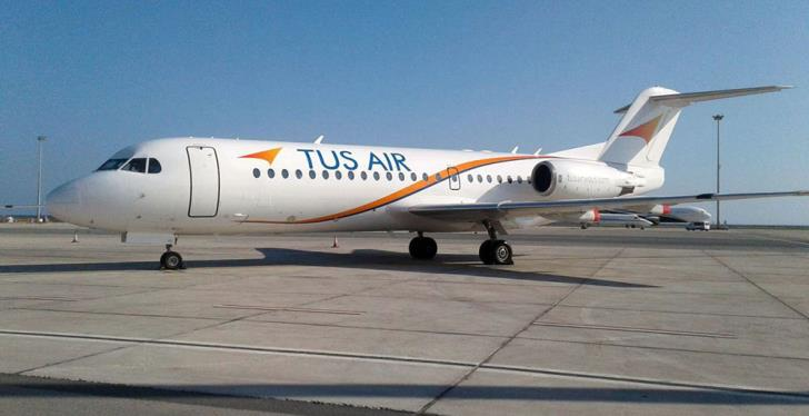 Two TUS Airways planes grounded
