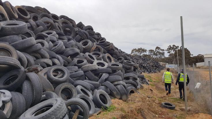 No danger of fire from tyres in Vasiliko area