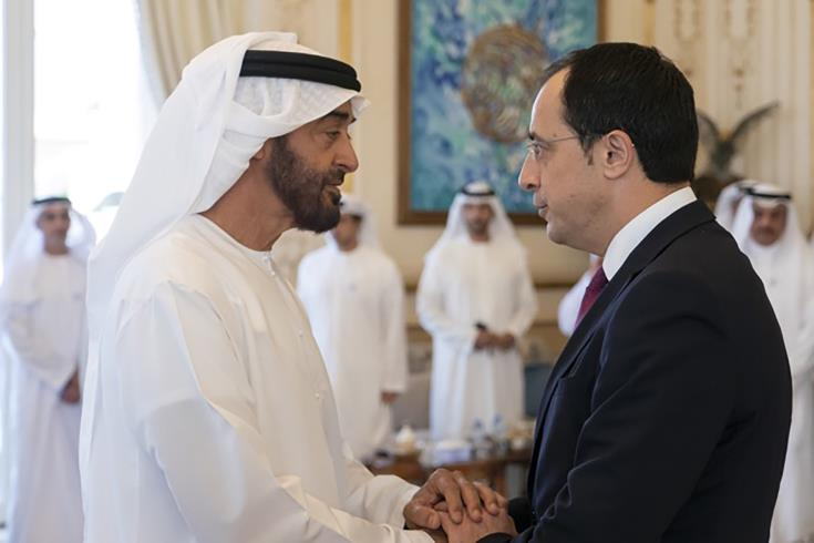 Cyprus and UAE agree to deepen relations