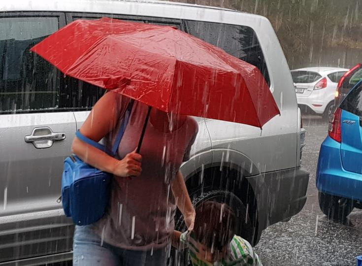 Met office forecasts showers