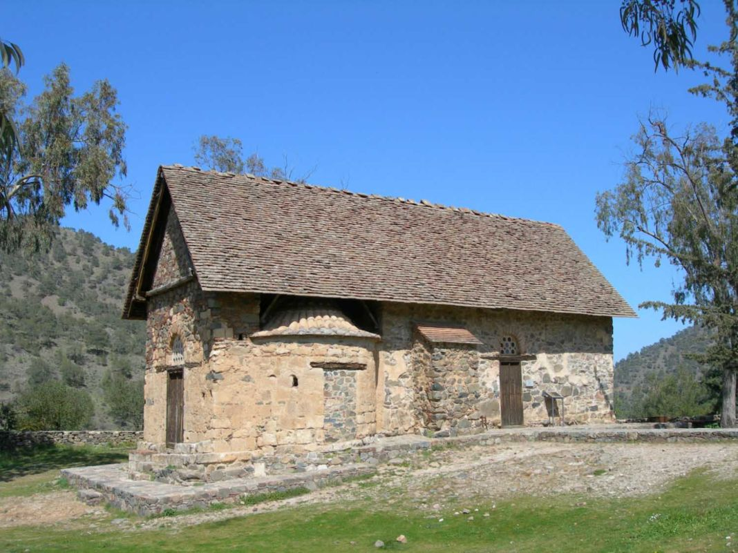 The UNESCO listed churches (Troodos)