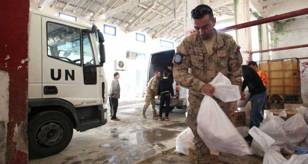 Government expects to be briefed by UNFICYP on new procedure for humanitarian aid to the enclaved