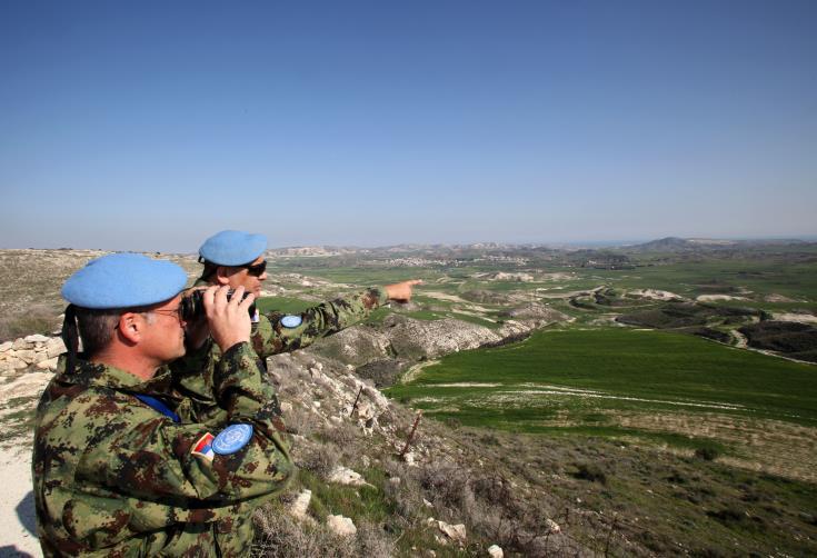 UNFICYP posts video of air patrol of buffer zone