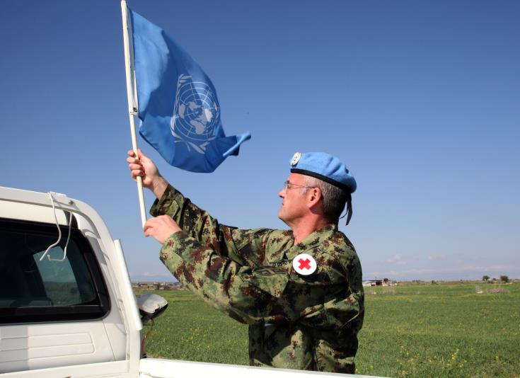 UNSG says Cyprus has remained calm and stable because of UNFICYP's presence