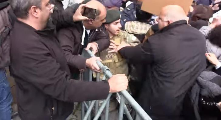 55 year old demonstrator to stand trial for assault