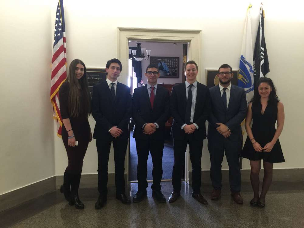 Official launch of the first Cypriot youth internship programme in Washington D.C.