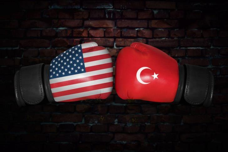 Tensions between Turkey and the US soar