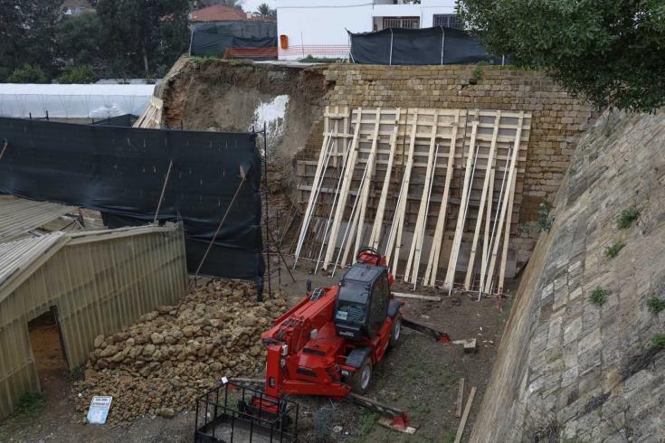 Nicosia walls  restoration continues