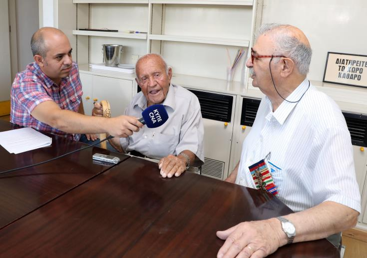 Emotional reunion for Greek Cypriot