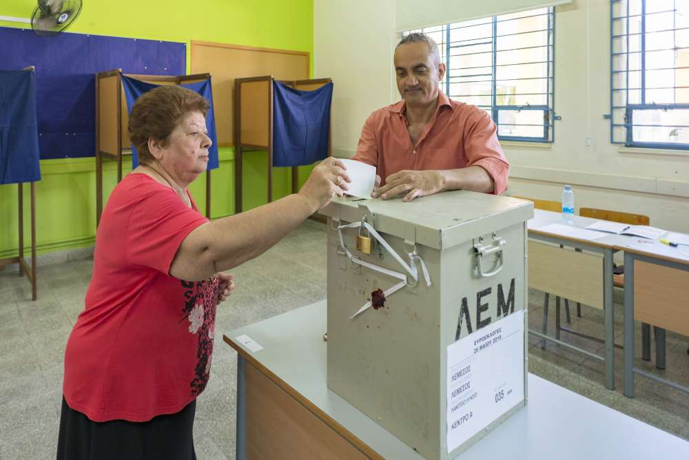EP elections: Turnout at 38.5% at 5 pm