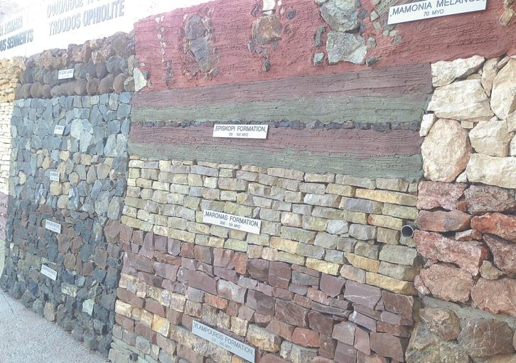 Trachypedoula Wall captures history of Cyprus geology