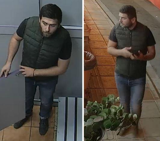 Police searching for two men in connection with robbery