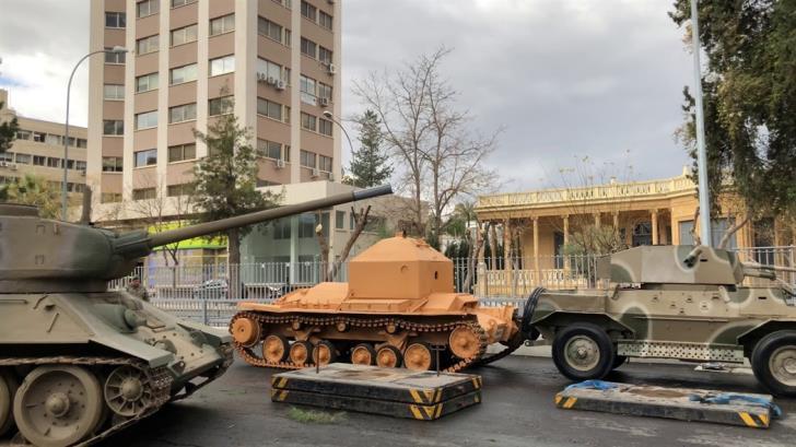 Dismantling of War Museum has begun
