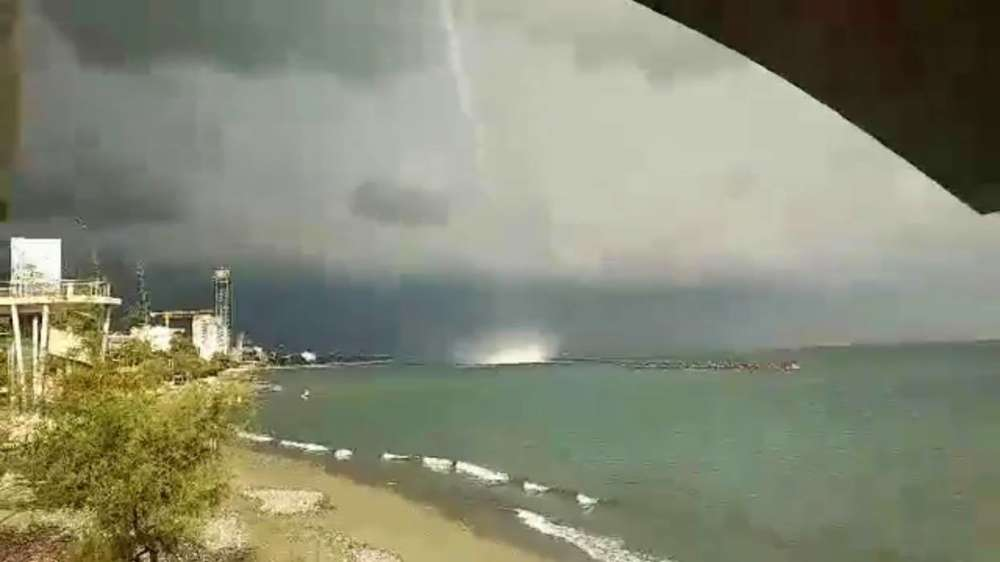 Limassol waterspout captured on video (photos