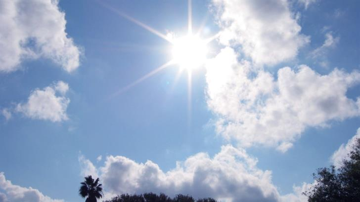 Mainly fine with temperatures at 22 C inland