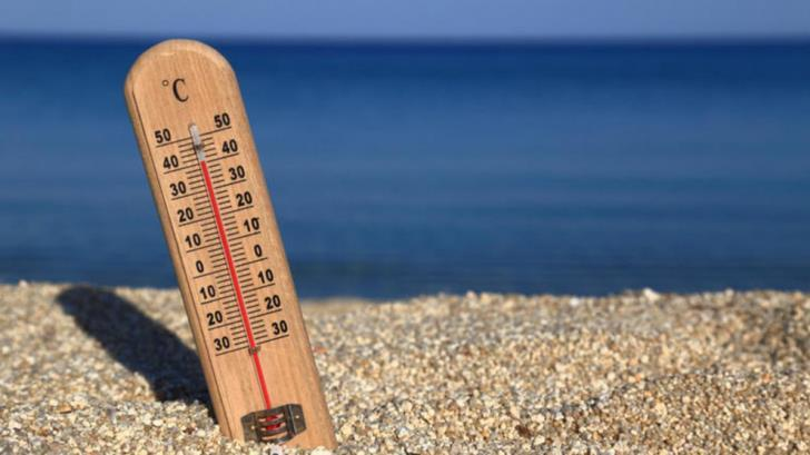 41 C inland again on Monday