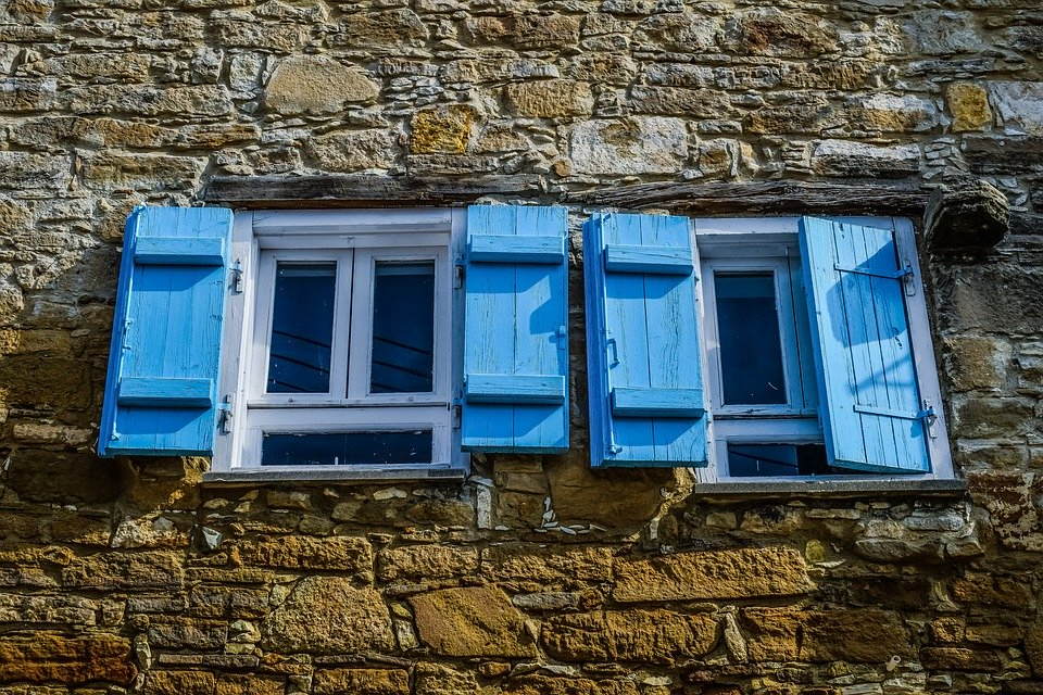 Window, House, Wall, Stone, Old, Architecture