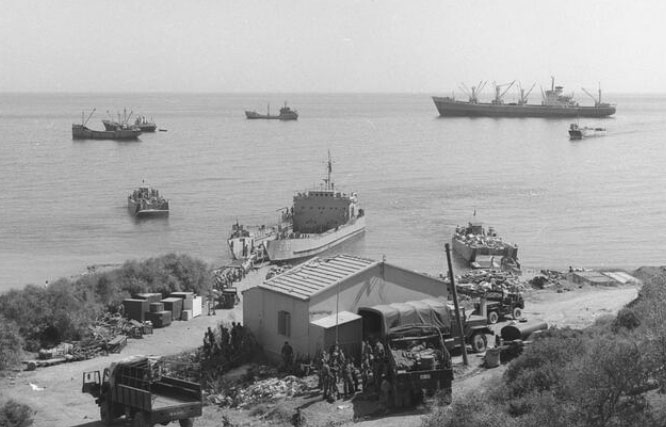 Pictures from the Turkish invasion in Cyprus published for the first time